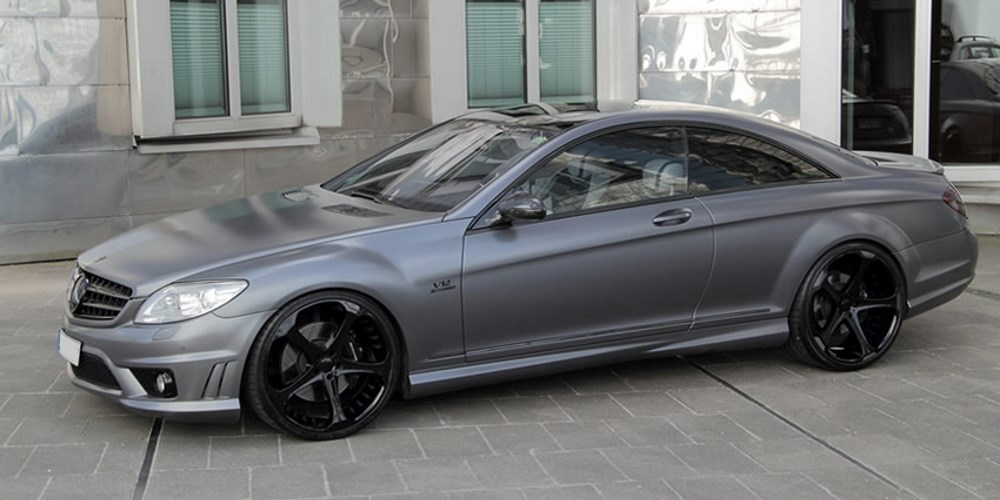 Mercedes-Benz CL65 AMG Special Grey Stone Edition by Anderson Germany. Photo by: Anderson Germany