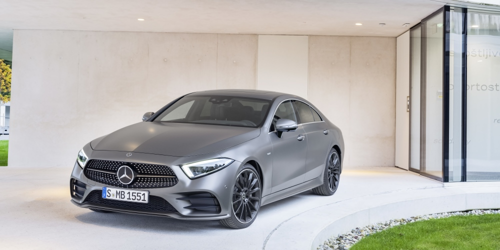 The new Mercedes-Benz CLS. Photo by: Daimler AG