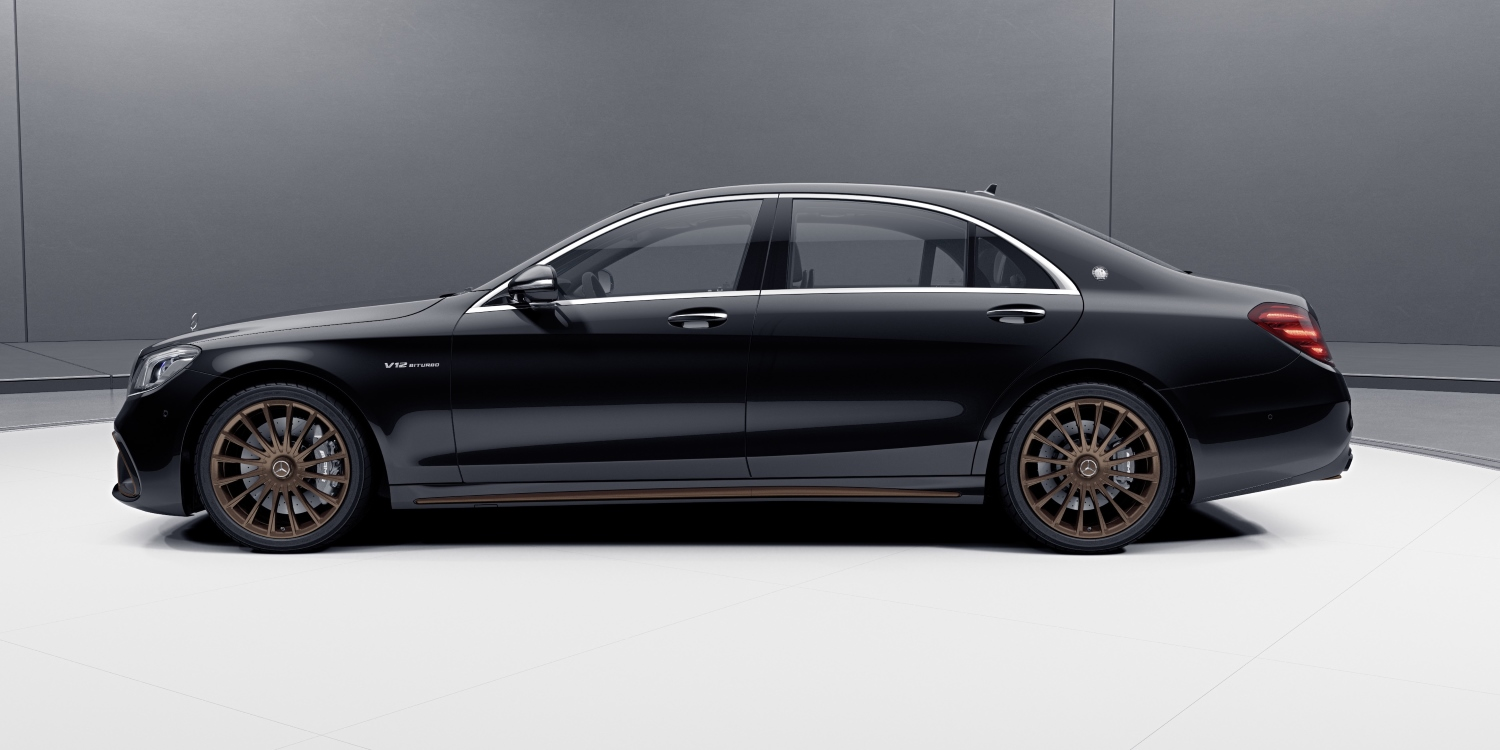 Mercedes-AMG S 65 Final Edition. Photo by: Daimler AG