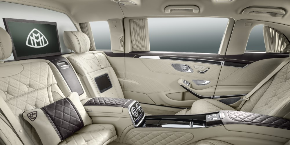 Mercedes-Maybach S 600 Pullman. Photo by: Mercedes-Maybach