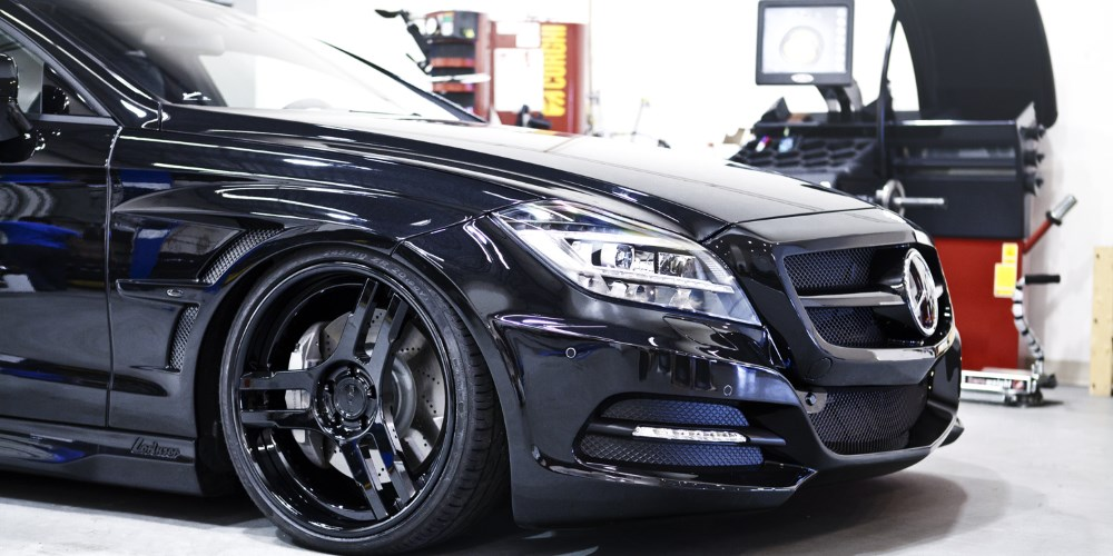 Mercedes Benz CLS63 AMG by SR Auto Group. Photo by: SR Auto Group