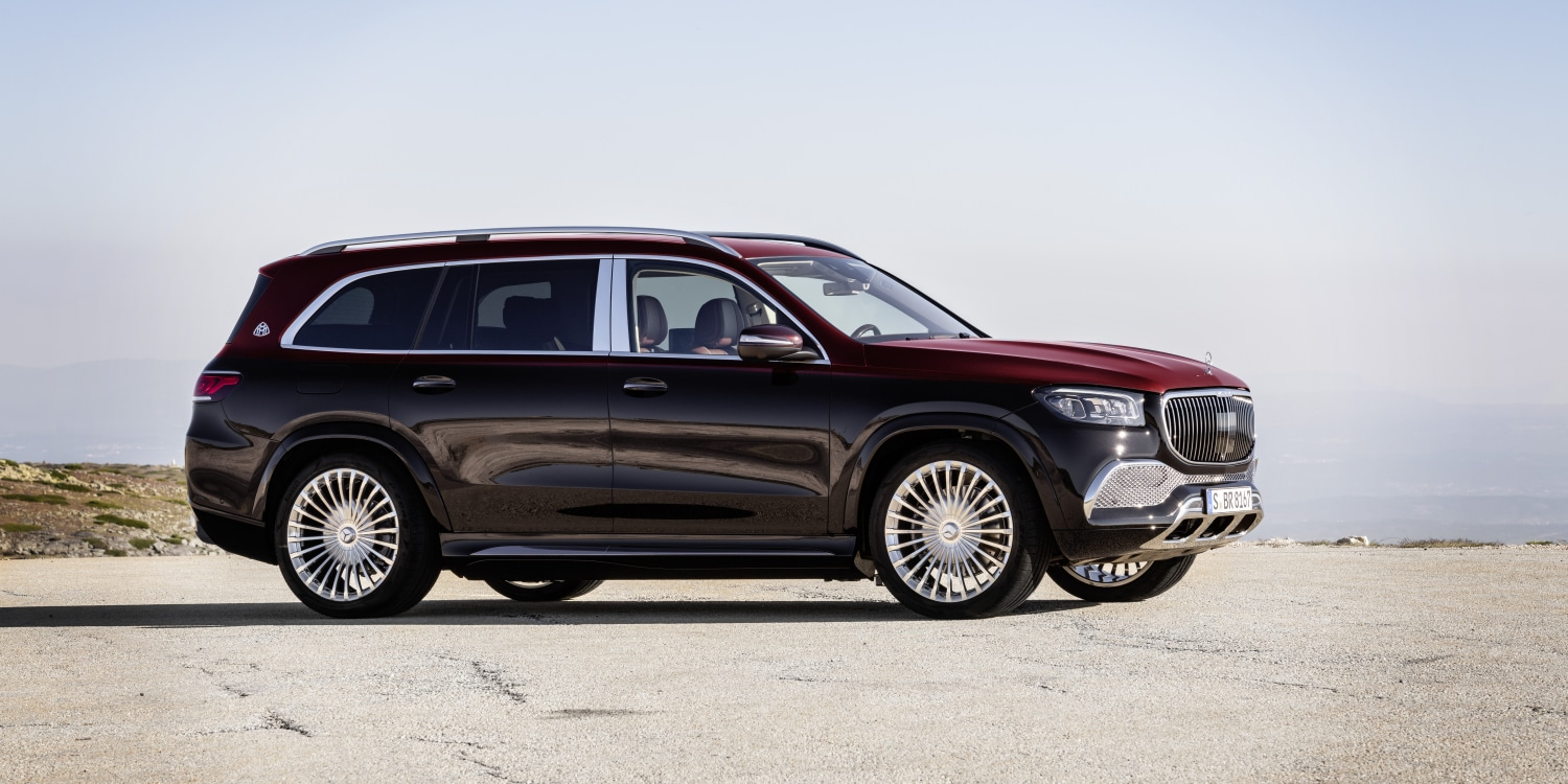 Mercedes-Maybach GLS 600 4MATIC. Photo by: Daimler AG