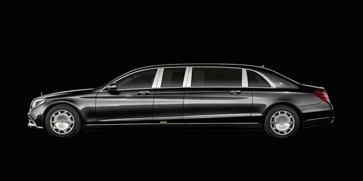 The new Mercedes-Maybach S 650 Pullman. Photo by: Mercedes-Maybach