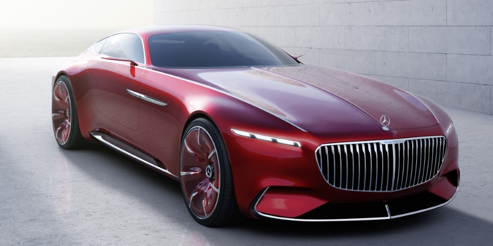 Vision Mercedes-Maybach 6. Photo by: Daimler AG