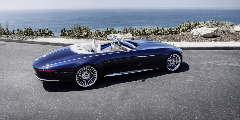 Vision Mercedes-Maybach 6 Cabriolet. Photo by: Daimler AG