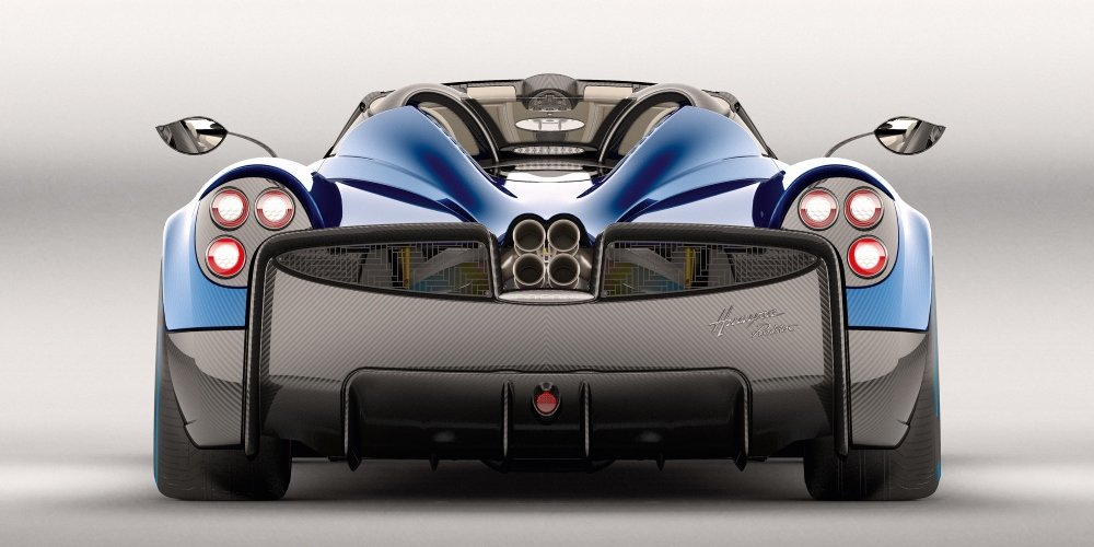 Pagani Huayra Roadster. Photo by: Pagani Automobili