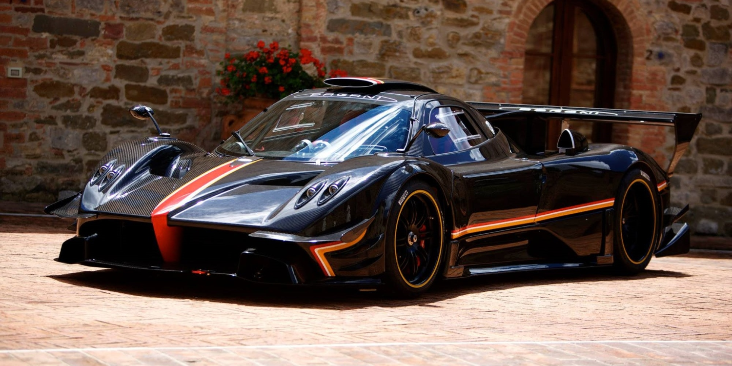 Pagani Zonda Revolucion. Photo by: Pagani Automobili