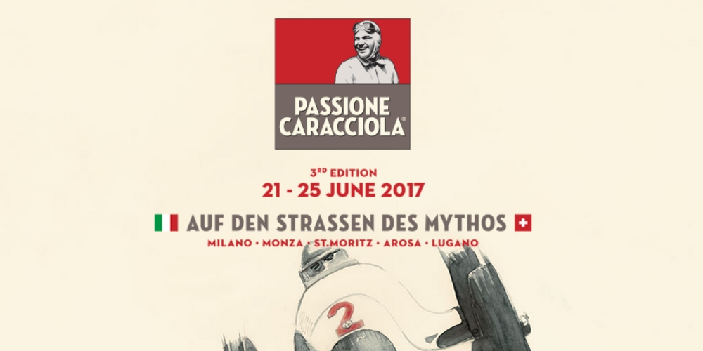 Passione Caracciola 2017. Photo by: Passione Caracciola
