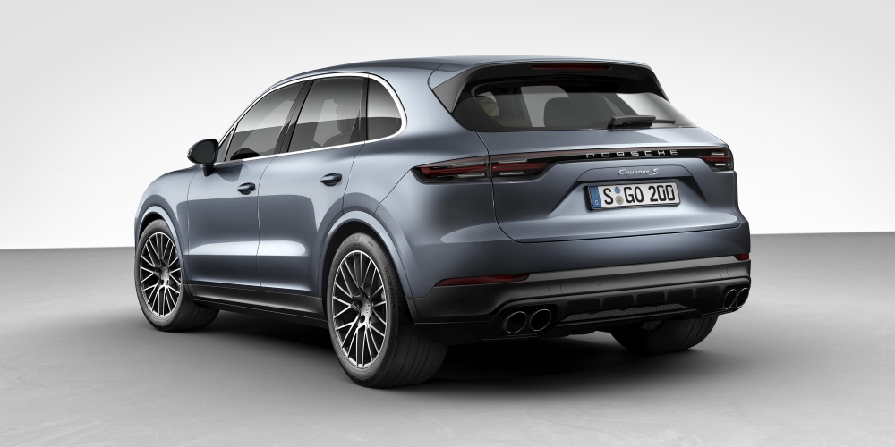 The New Porsche Cayenne Cars Evlear
