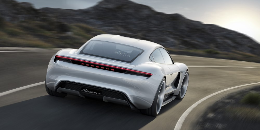 Porsche Mission E. Photo by: Porsche AG