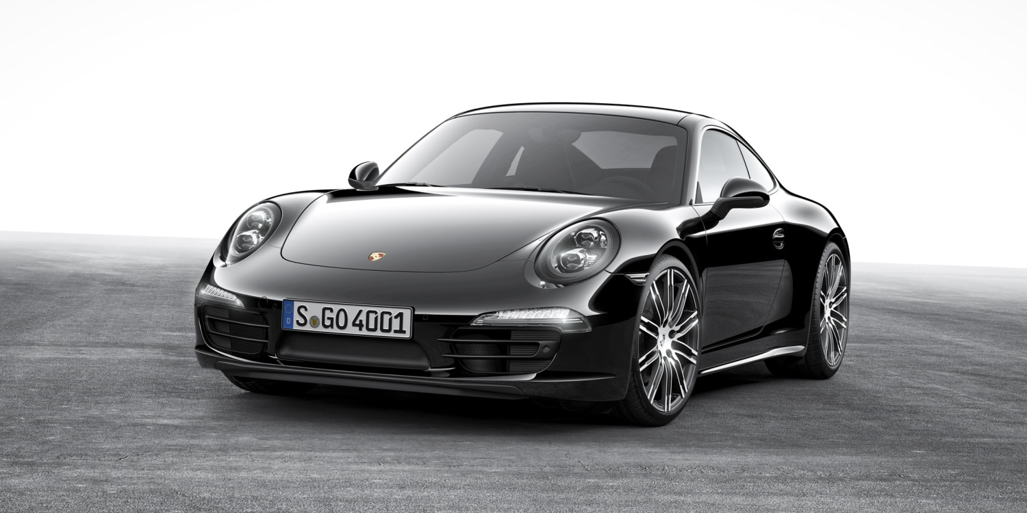 Porsche 911 Carrera Black Edition. Photo by: Porsche AG