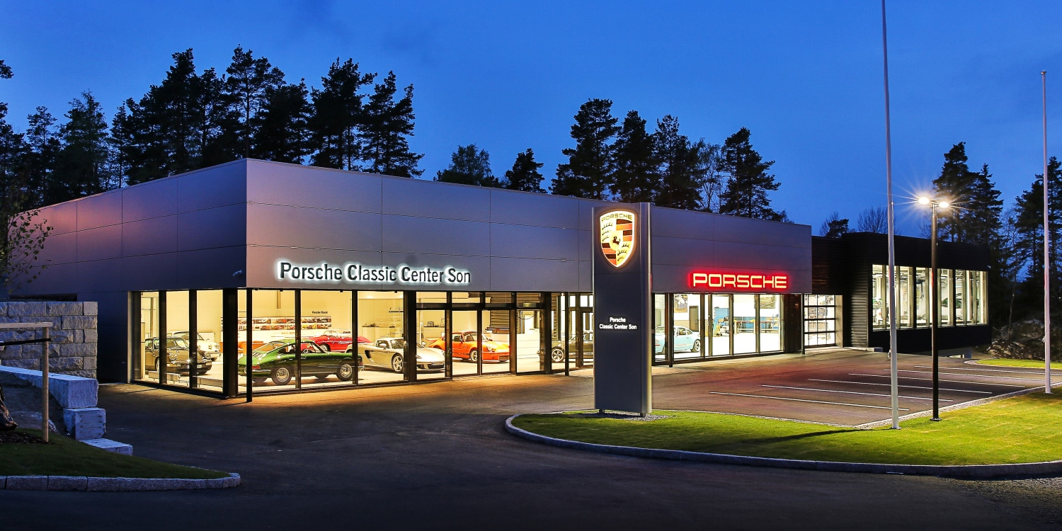 New Porsche Classic Centre in Norway. Photo by: Porsche AG