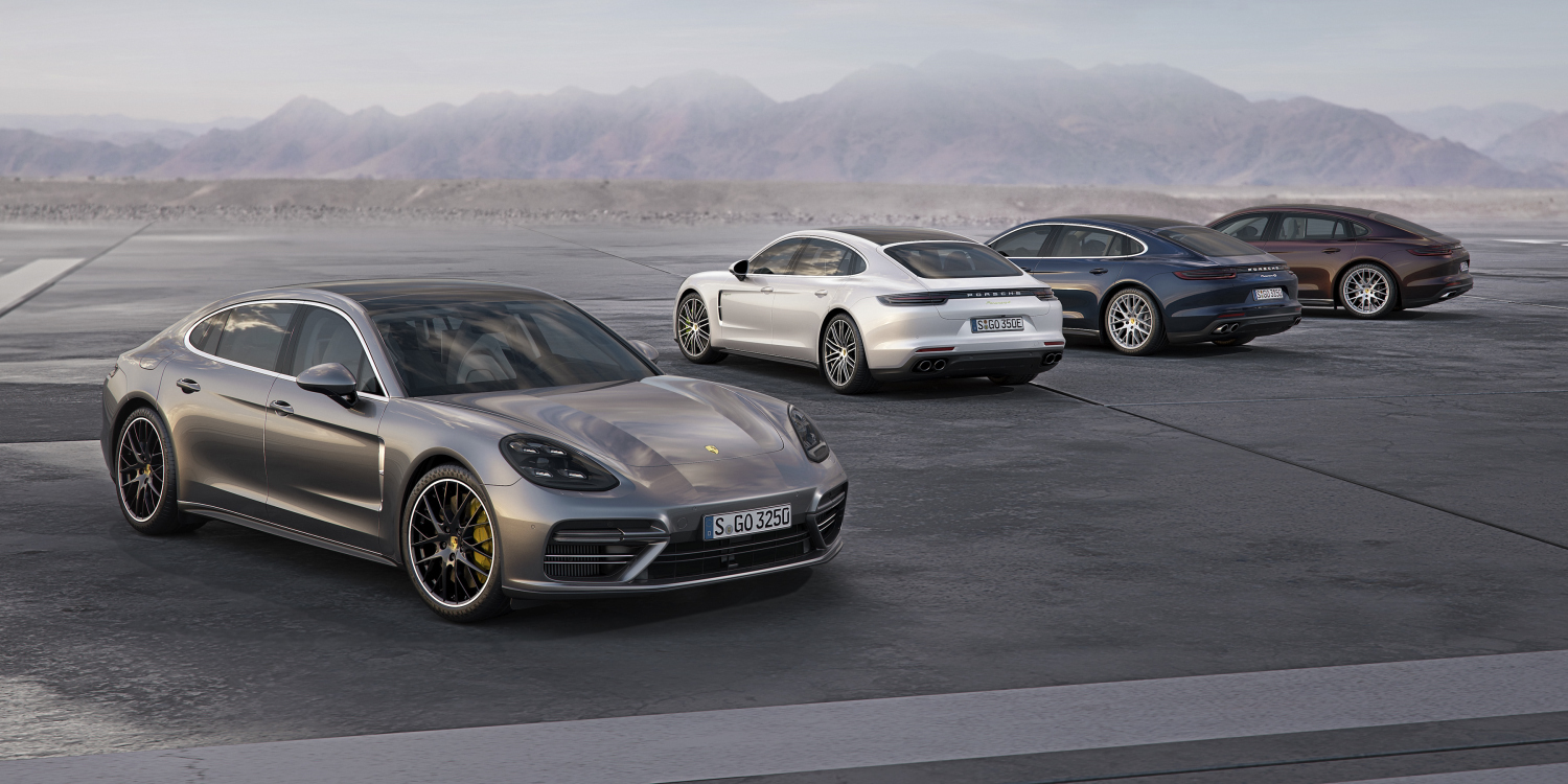 The Porsche Panamera range is growing. Photo by: Porsche AG