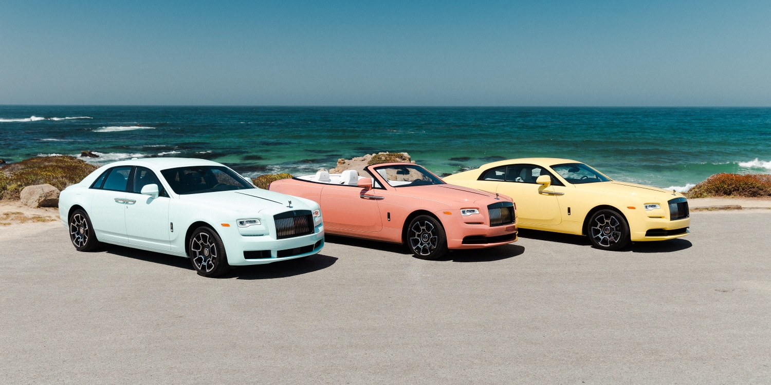 Rolls-Royce drop an explosion of colour. Photo by: Rolls-Royce Motor Cars