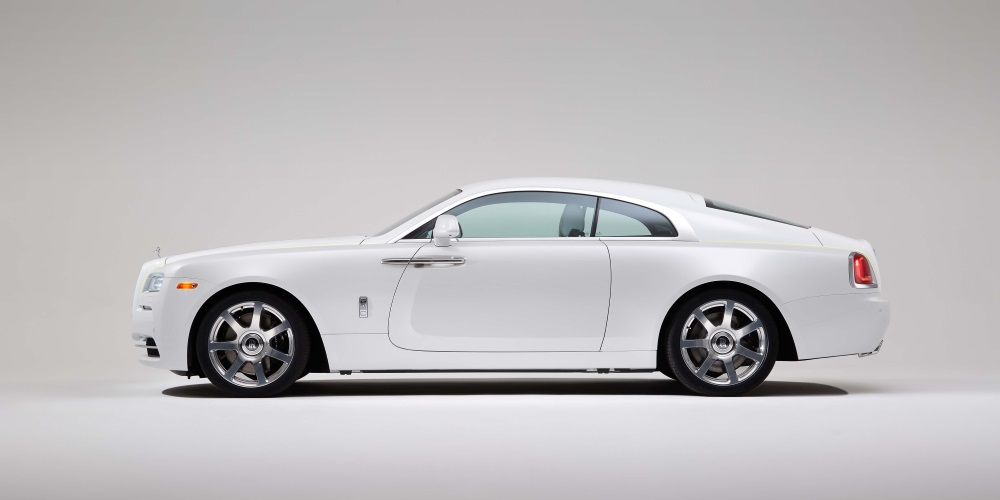 Wraith - Inspired by Fashion. Photo by: Rolls-Royce Motor Cars