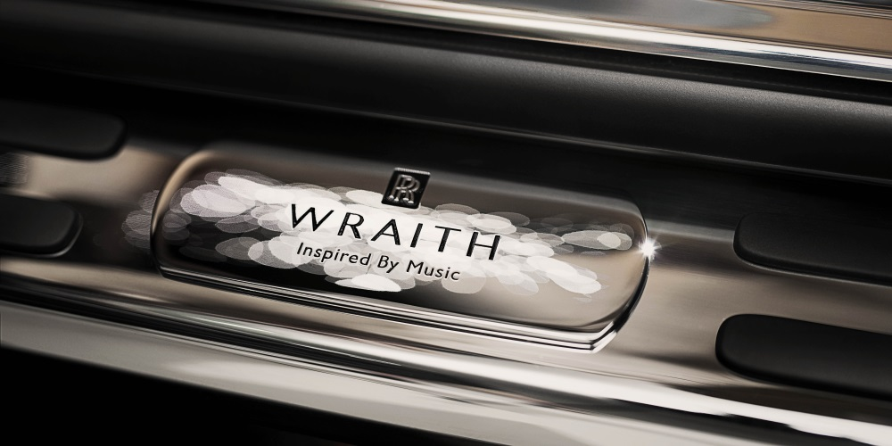 Rolls-Royce Wraith - Inspired by Music. Photo by: Rolls-Royce Motor Cars