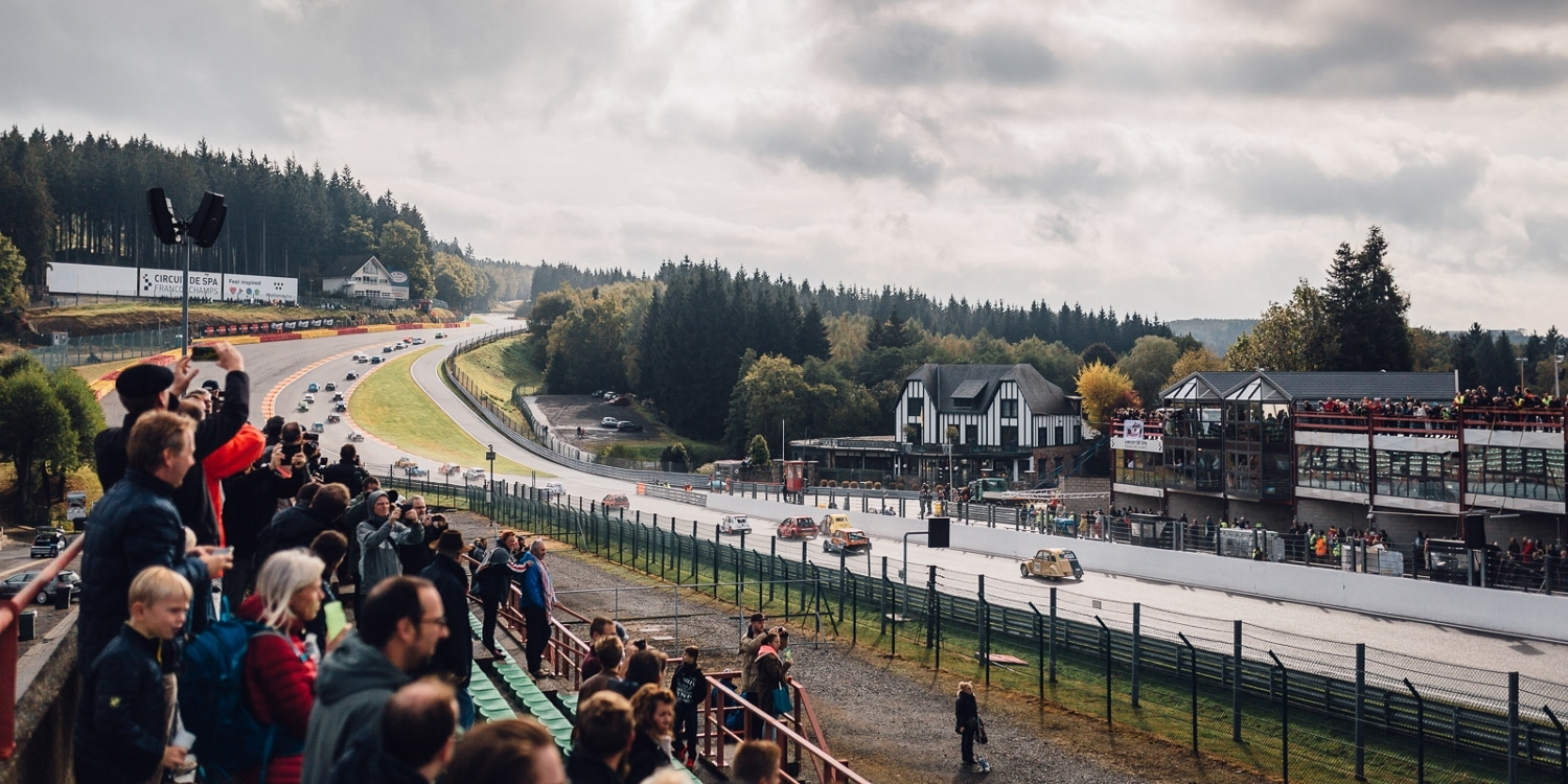 Spa-Francorchamps Eau Rouge / Raidillon combination