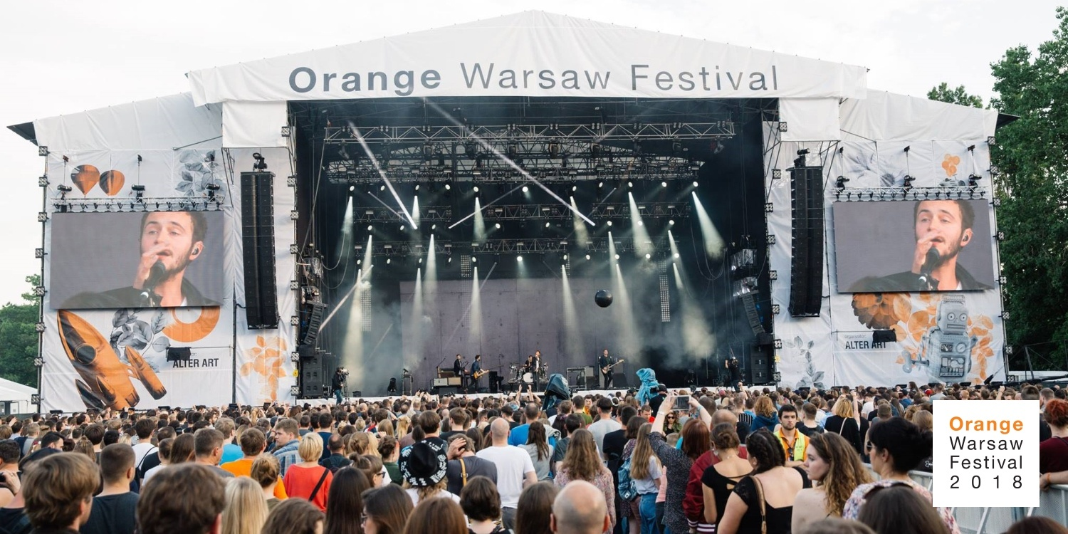 Orange Warsaw Festival 2018. Photo by: Orange Warsaw Festival
