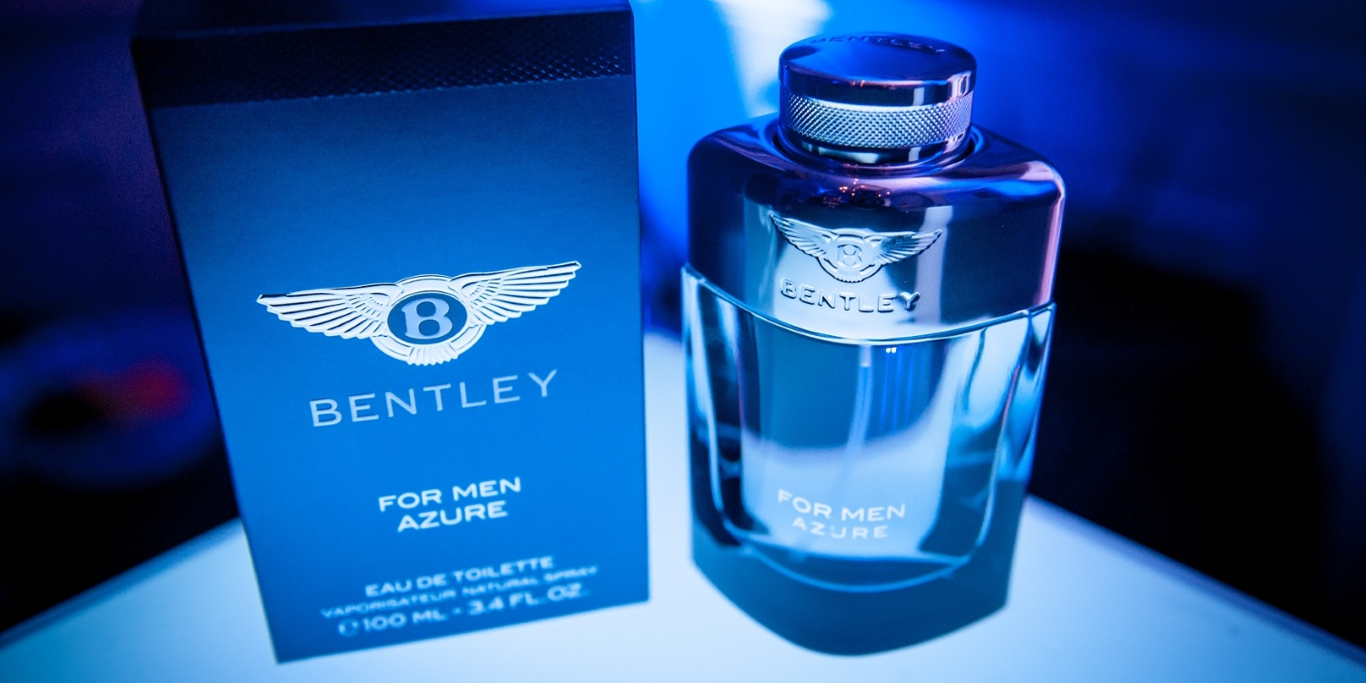 Bentley for Men Azure - A luxury composition