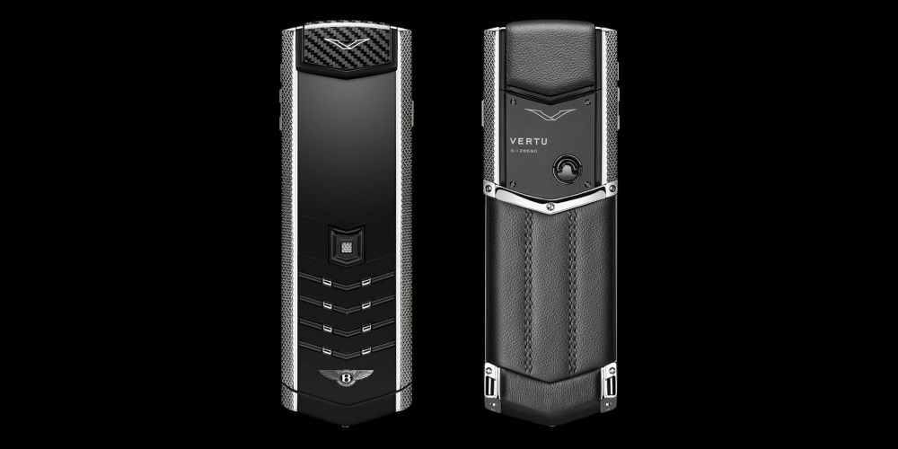 New Signature for Bentley From Vertu. Photo by: Bentley Motors