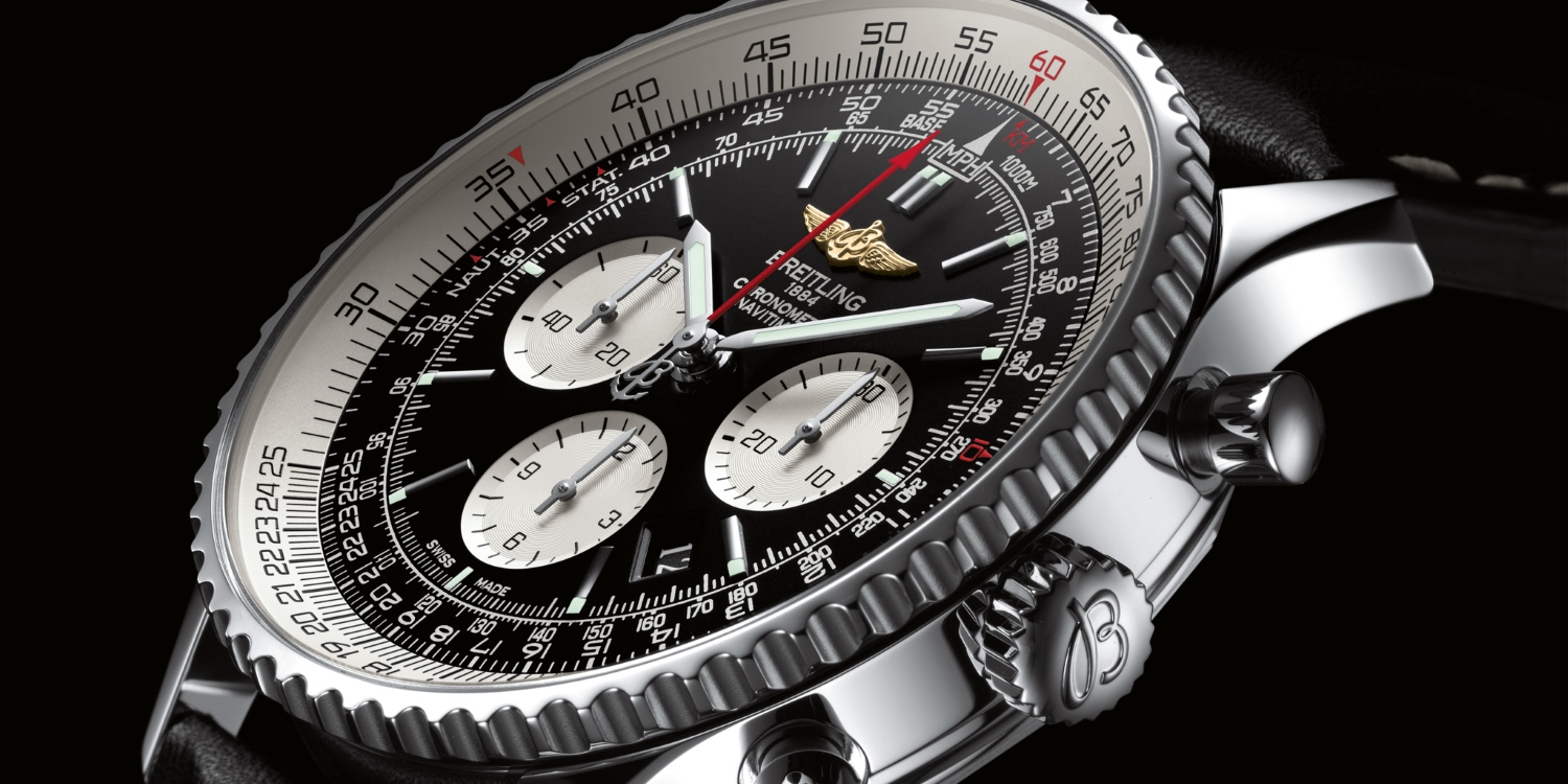 Watches with style. Photo by: Breitling