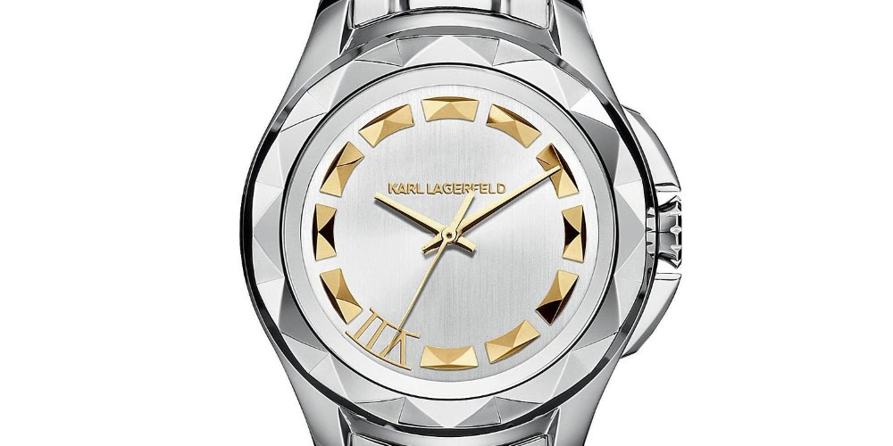 Watches with style. Photo by: Karl Lagerfeld