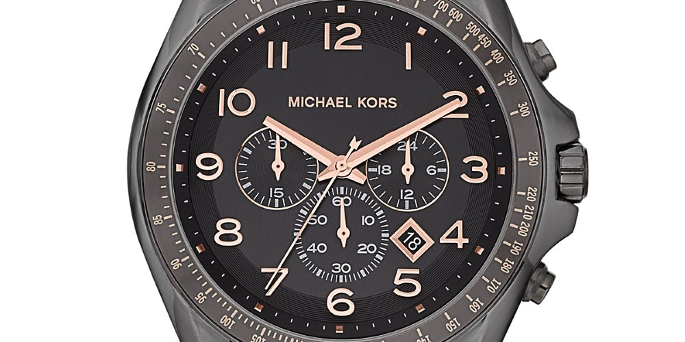 Watches with style. Photo by: Michael Kors
