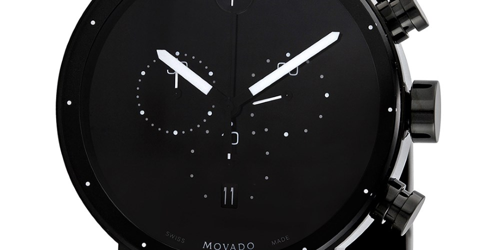 Watches with style. Photo by: Movado