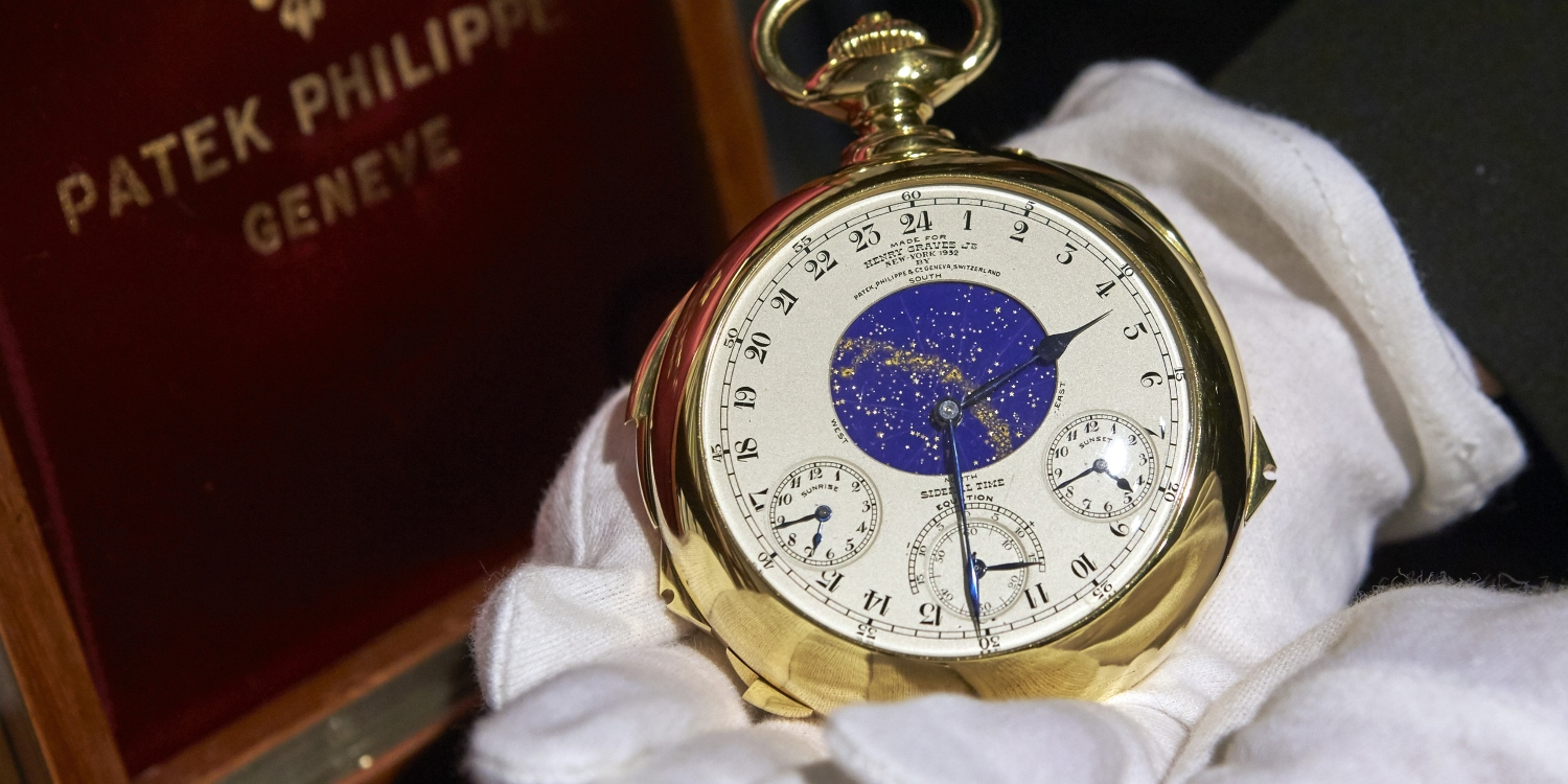The Patek Philippe Henry Graves Super Complication Watch. Photo by: Patek Philippe & Co.