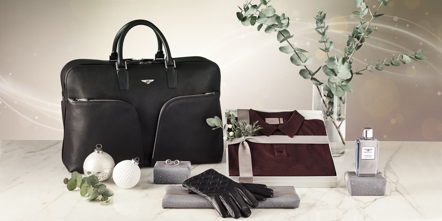 Festive gifts from the Bentley collection. Photo by: Bentley Motors