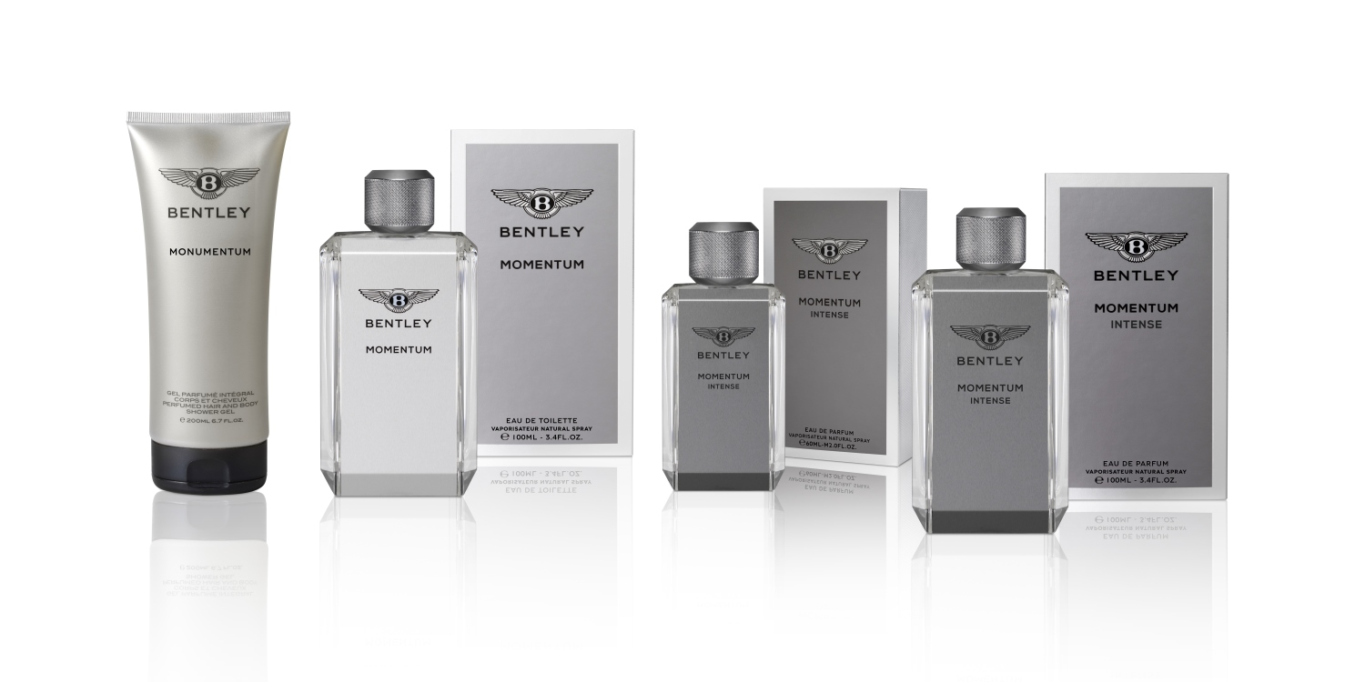 Bentley Momentum. Photo by: Bentley Fragrances