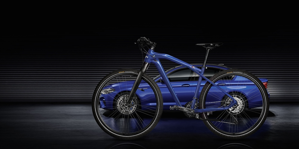 BMW M Bike Limited Carbon Edition. Photo by: BMW Group