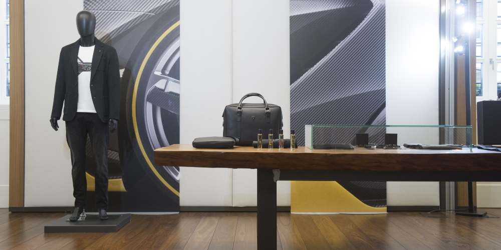 The Fall Winter 2017/18 from Collezione Automobili Lamborghini. Photo by: Automobili Lamborghini S.p.A