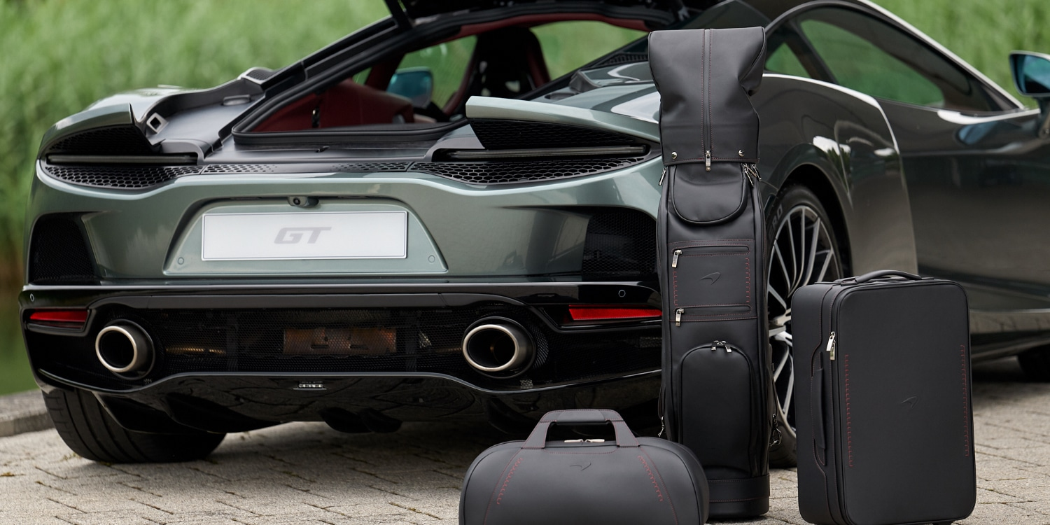 The McLaren GT Luggage Set. Photo by: McLaren Automotive Limited