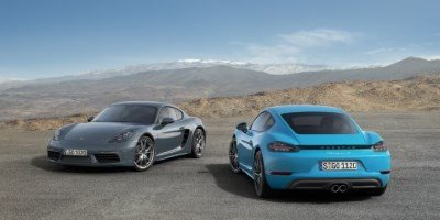 Porsche 718 Cayman and Porsche 718 Cayman S