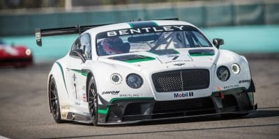 Bentley GT3 Race debut