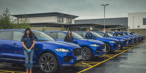 Jaguar and Land Rover Coronavirus Support