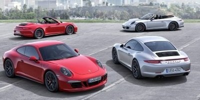 The new Porsche 911 Carrera GTS models
