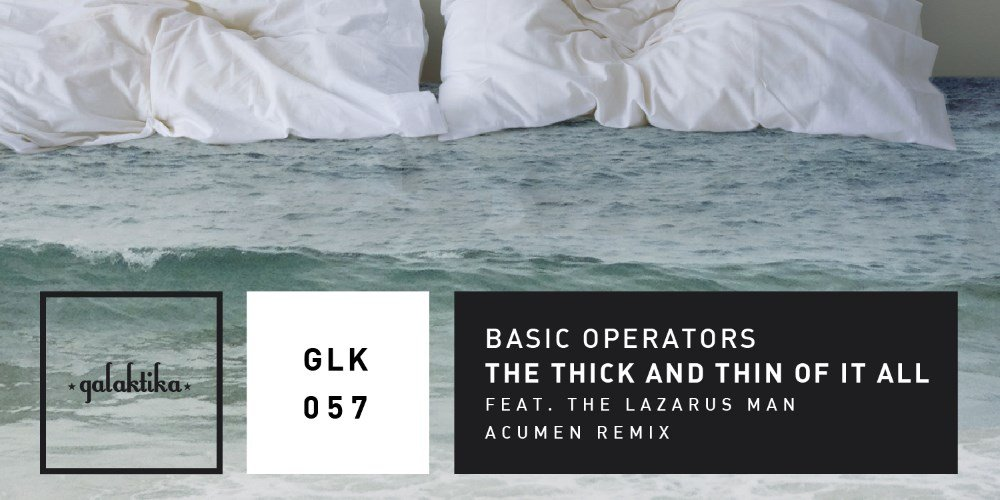 The Thick And Thin Of It All by Basic Operators. Photo by: Galaktika Records