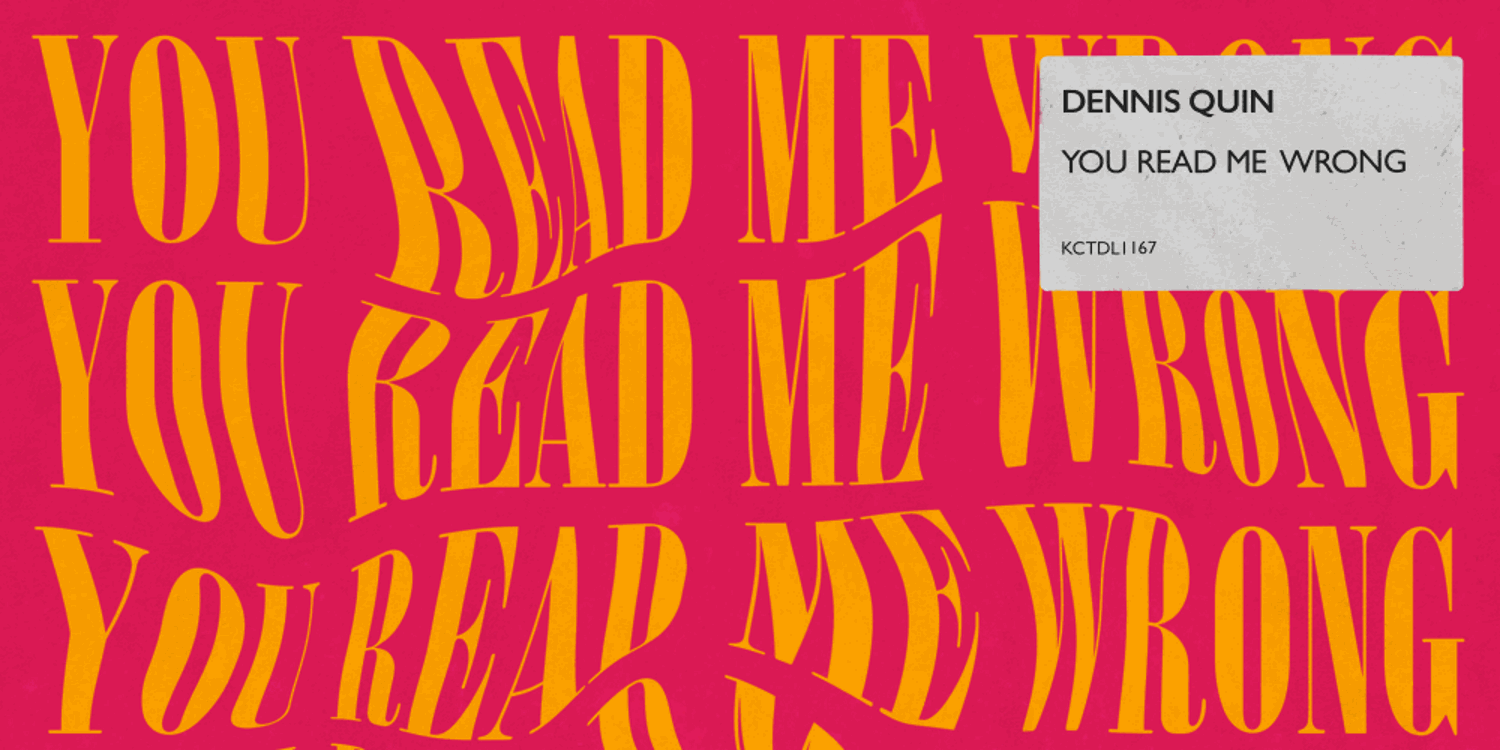 You Read Me Wrong EP by Dennis Quin. Photo by: Madhouse Records