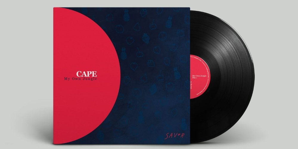My Own Jungle LP by Cape. Photo by: Savor Music