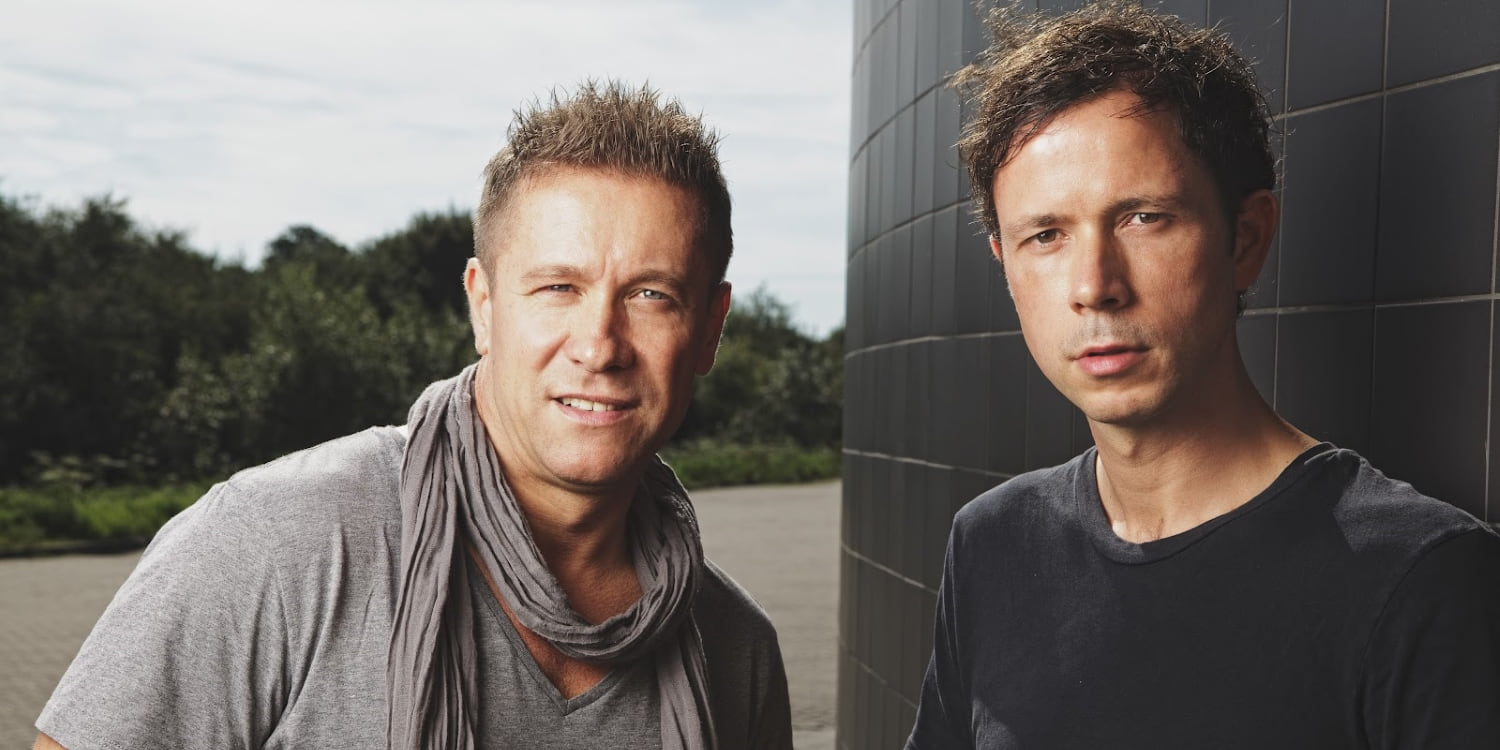 Cosmic Gate - Nic Chagall & Stefan Bossi Bossems. Photo by: Black Hole Recordings