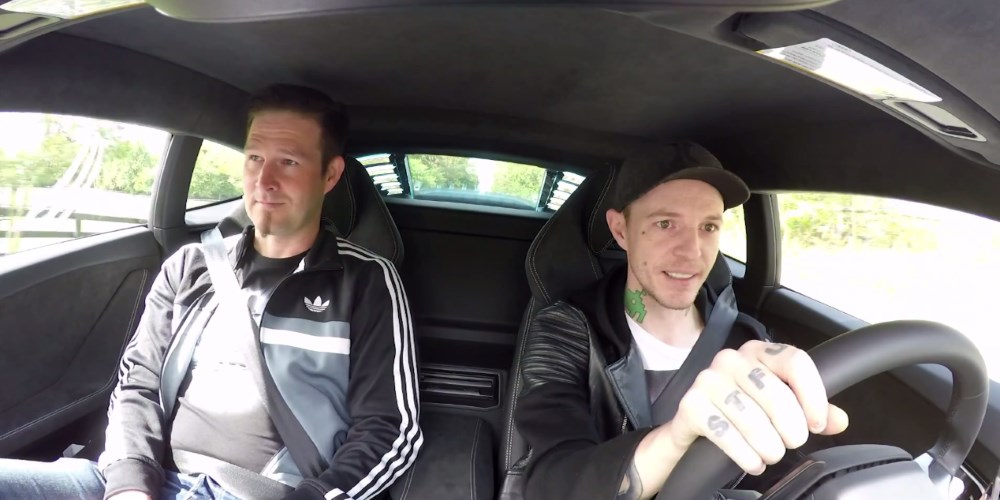 Coffee Run with Deadmau5 and Darude. Photo by: Joel Zimmerman