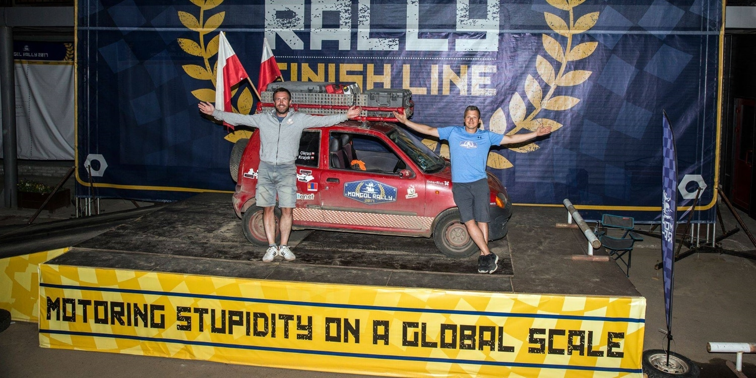 Mongol Rally 2019. Photo by: Mongol Rally