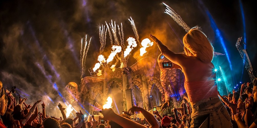 Electric Daisy Carnival. Photo by: Anthony Mooney
